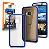 ORZLY - HTC ONE M9 Caja DURO Fusión Gel Funda AZUL (Fusion Gel Hard Case BLACK Phone Cover Skin) para HTC ONE M9 - Nuevo 2015 Modelo / Versión SmartPhone / Teléfono Celular / Teléfono Móvil