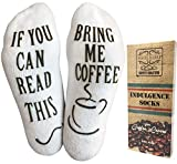 "Haute Soiree Luxus-Baumwolle ""bringt Mir Kaffee"" Socken"