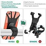 PEYOU-Supporto-Bici-Smartphone2019-nuovoPorta-Cellulare-Bici-360-Rotabile-UniversaleSupporto-Smartphone-Per-BiciMTB-e-Moto-CiclismoGPS-Navigatore-e-Altri-Dispositivi-Elettronici-4-65