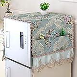 Waschmaschinenüberzug Waschmaschinen Rosen groß Abdeckung Waschmaschine Trockner