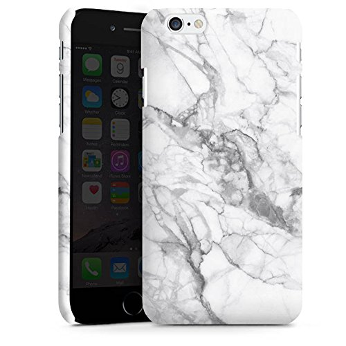 Apple iPhone 6 Hülle Case Handyhülle Marmor Marble Marmoriert Premium Case matt