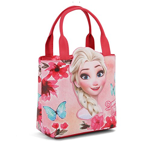 Karactermania La Reine des Neiges (Frozen) Summer Chill-Sac à Main Shopping Go Strandtasche, 24 cm, Rosa (Pink)