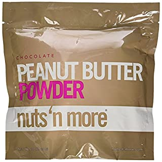 Nuts n More Powder Peanut Butter Supplement, 284 g, Chocolate