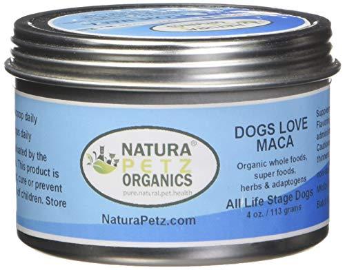 Natura Petz Organics Dogs Love Maca Inserire Glandular Sostegno per Cani