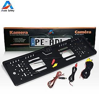 Auto Safety Rückfahrkamera European Nummernschild / Kennzeichen Halterung mit 170 ° HD Farbe CMOS Kamera Nachtsicht Wasserdicht IP67