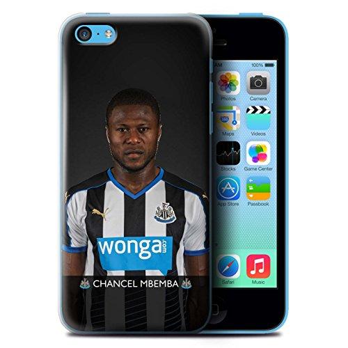 Offiziell Newcastle United FC Hülle / Case für Apple iPhone 5C / Haïdara Muster / NUFC Fussballspieler 15/16 Kollektion Mbemba