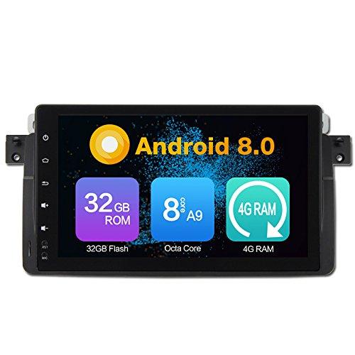 Octa Core 4GB Ram Android 8,0 Auto GPS Navegación Multimedia Player Car...