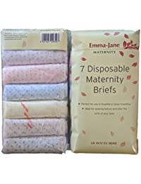 Disposable hospital briefs