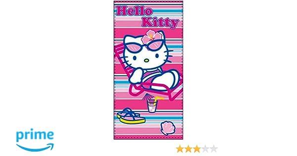 Badetuch Handtuch Strandtuch Hello Kitty 76 x 152 cm