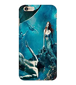 ColourCraft Underwater Creatures Design Back Case Cover for APPLE IPHONE 6S PLUS