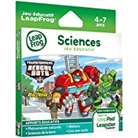 LeapFrog 82013 - Jeu Electronique - Leappad / Leapster - Transformers Rescue Bots