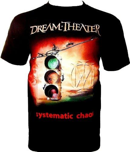 Dream Theater T-Shirt 'Systematic Chaos' fan Maglietta Nero Gr S