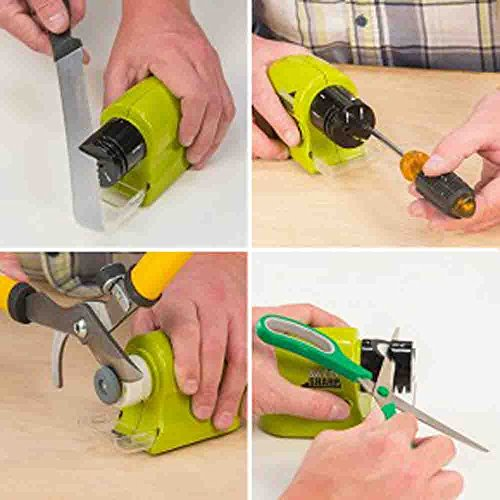 Very Easy Use To New 2017 Swifty Sharp Electric Knife,Scissor and Screw-Drive and All Part