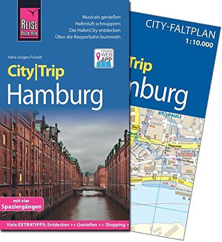 CityTrip Hamburg: Reiseführer mit herausnehmbarem Faltplan, Spaziergängen und Web-App