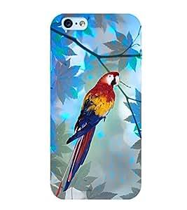 Parrot 3D Hard Polycarbonate Designer Back Case Cover for Apple iPhone 6 Plus :: Apple iPhone 6+