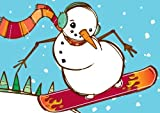 Amazon.co.uk Gift Card - In a Greeting Card - £20 (Christmas Snowman)
