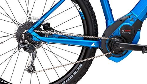 Herren E-Bike 27,5 Zoll blau - Bulls Six50 Evo 1 CX E-Mountainbike - Bosch CX Mittelmotor, Akku 500Wh, Shimano Schaltung