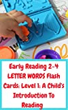 Early Reading 2-4 LETTER WORDS Flash Cards: Level 1: A Child's Introduction To Reading (Early Reading Flash Cards)