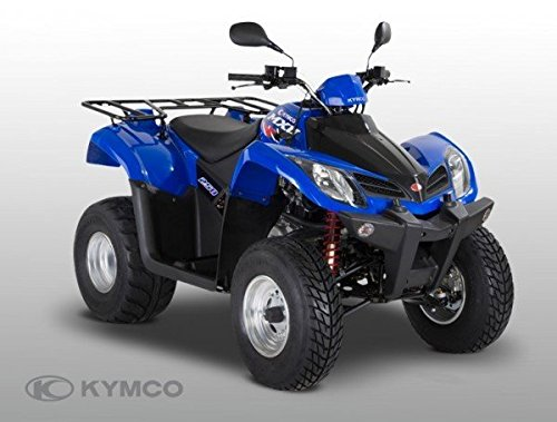 Kymco MXU 250Onroad, colori: Nero