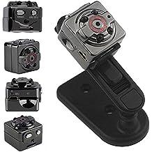 Electro-Weideworld - 1080P Mini DV Bolsillo Grabador de Vídeo Digital Videocámara de la Cámara SQ8 Soporte Detección de Movimiento