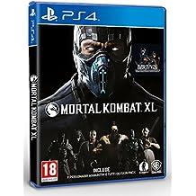 Warner Bros Mortal Kombat XL, PS4 + Hori fighting stick Basic PlayStation 4 English, Italian video game - video games (PS4 + Hori fighting stick, PlayStation 4, Fighting, Multiplayer mode, M (Mature))