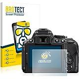 BROTECT AirGlass Protector Pantalla Cristal Flexible para Nikon D5300 Protector Cristal Vidrio - Extra-Duro, Ultra-Ligero