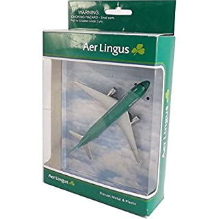 Real Toys AL76340 Aer Lingus Airbus A320 Toy Plane approx 6in long