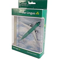 Real Toys AL76340 Aer Lingus Airbus A320 Toy Plane approx 6in long by Real Toys