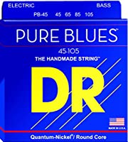 DR Strings PB-45 Pure Blues Bass Guitar Strings