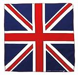 Tuch Union Jack Flagge UK Großbritannien Kopftuch Bandana Halstuch Nickituch ca. 51 x 51 cm Einseitig bedruckt