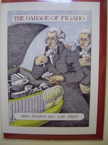 the-garage-of-figaro-simon-drew-humorous-blank-greeting-card