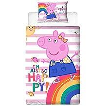 Trapunta Di Peppa Pig.Amazon It Piumone Peppa Pig
