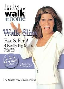 Walk Slim Fast & Firm 4 Really Big Miles [DVD] [2008] [Region 1] [US Import] [NTSC]