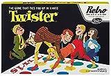 Hasbro Twister Special 1966 Retro Reihe Ausgabe Spaß-Familie 4 Spieler-Partei-Spiel