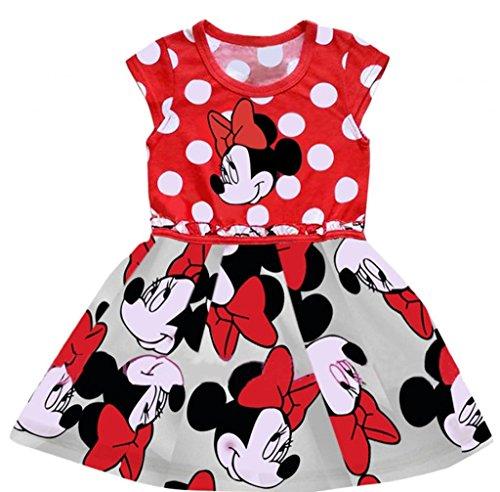 Eyekepper kleine Maedchen reizende Tutu-Kleid (Mickey Kleid)