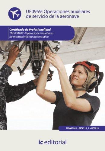 Operaciones auxiliares de servicios de la aeronave. TMVO0109