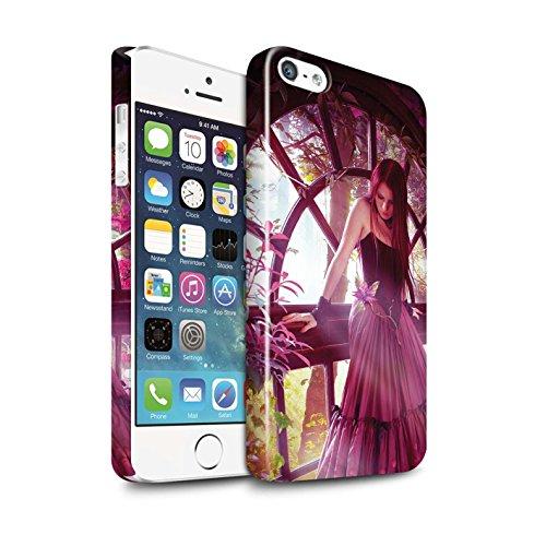 Officiel Elena Dudina Coque / Clipser Brillant Etui pour Apple iPhone 5/5S / Pack 15pcs Design / Un avec la Nature Collection Couleurs d'Automne