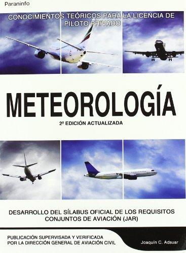 Meteorología (Aeronautica (paraninfo)) por Joaquin C. Adsuar