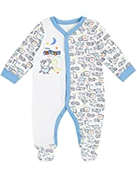 George The Pig Baby Boys George Pig Sleepsuit Ages 0 to 18 Months