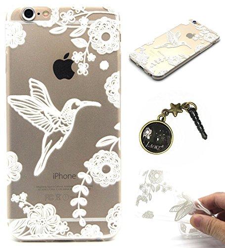 TPU Silikon Schutzhülle Handyhülle Painted pc case cover hülle Handy-Fall-Haut Shell Abdeckungen für Smartphone Apple iPhone 6 6S+Plus (5.5 Zoll)+Staubstecker (Q13) 4
