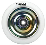 Chilli Wheel Fullcore 110mm White PU/Rainbow core