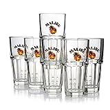 Malibu Gläser mit Eichstrich 2 & 4 xl 6 Stück