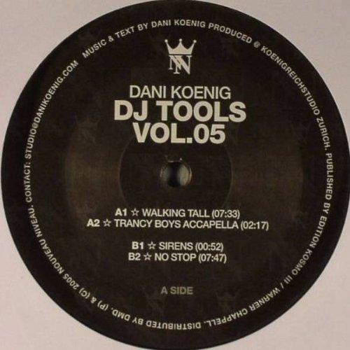 Dani König - DJ Tools Vol. 05 - Nouveau Niveau - NN001 (König-tools)