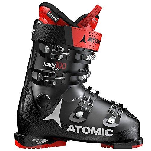Atomic Unisex-Erwachsene ABO ATO All Mtain Inl Schneestiefel, Schwarz (Black/Red 000), 42/43 EU Thinsulate-boot-liner