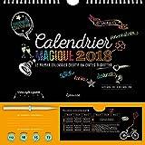 Calendrier magique 2018: Le premier calendrier créatif en cartes à gratter
