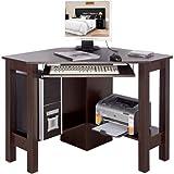 HORNER - Corner Office Desk / Computer Workstation - Noce