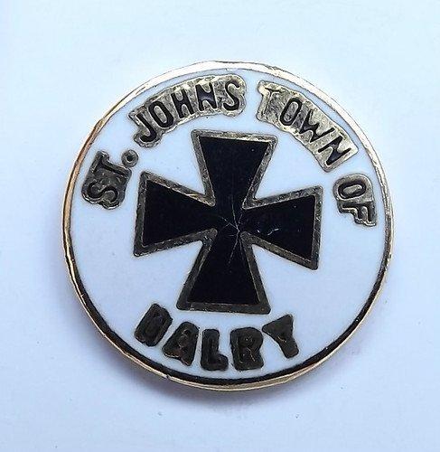 St. Johns von dalry (Email Anstecknadel