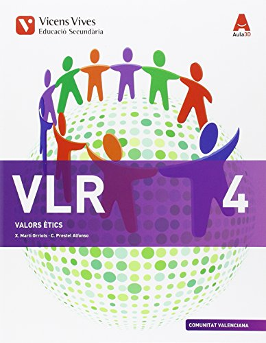 VLR 4 VALENCIA (VALORS) ESO AULA 3D: 000001 - 9788468236216
