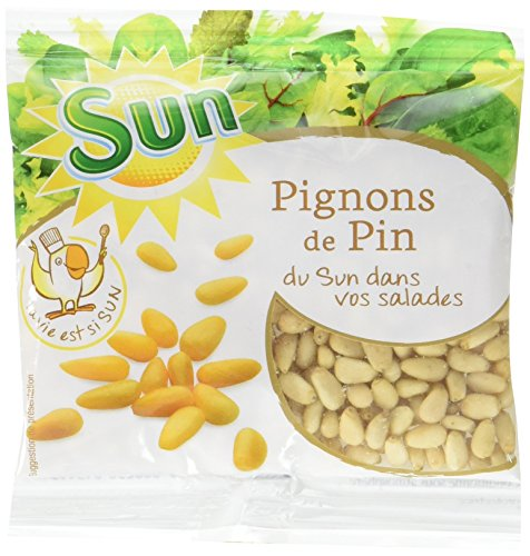 SUN Pignons de Pin 50 g - Lot de 5