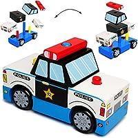 Besten Preis für alles-meine GmbH 3-D Puzzle - Holz Bausteine & Klötze - Polizei Auto / Fahrzeug - Steckspie.. bei kleinkindspielzeugpreise.eu